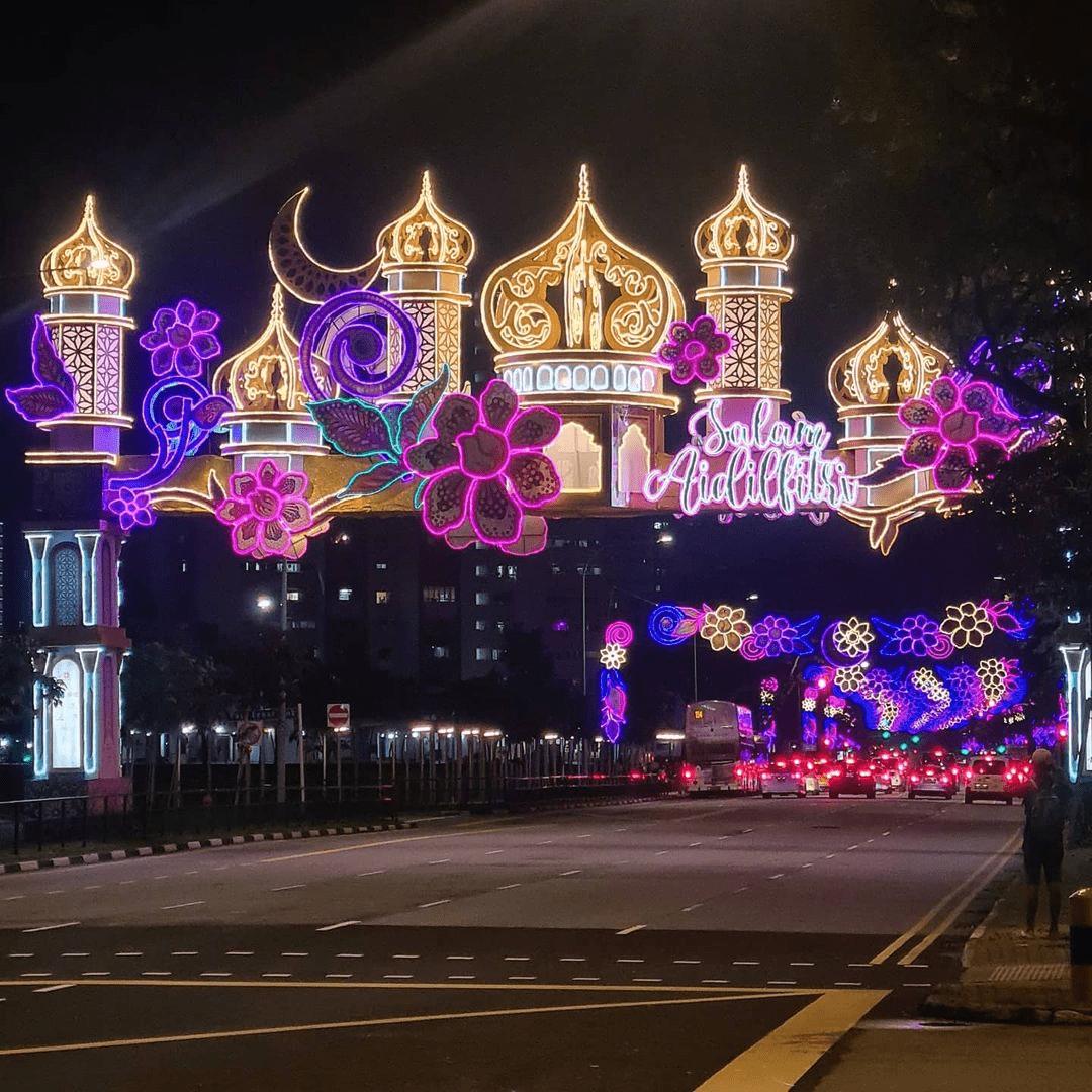 Hari Raya Light-up