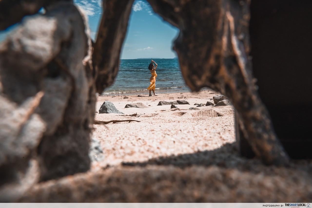 Beaches on Pulau Satumu