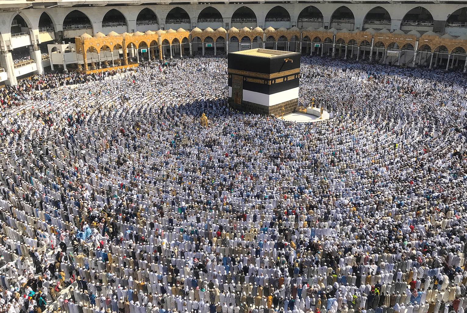hajj pilgrimage at mecca