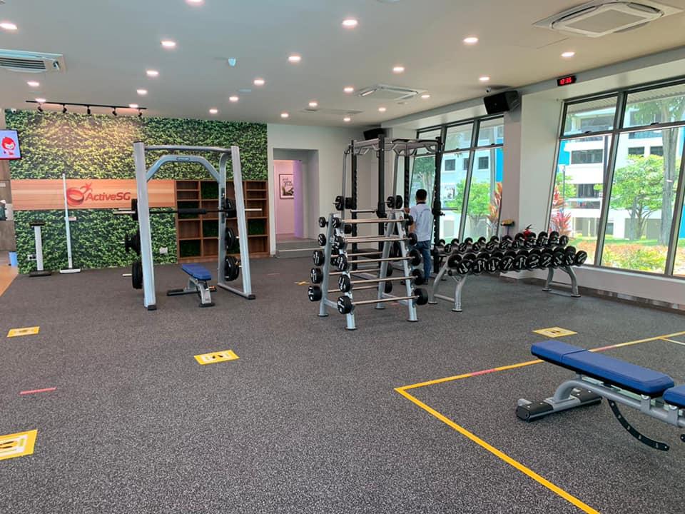 Senja-Cashew ActiveSg gym