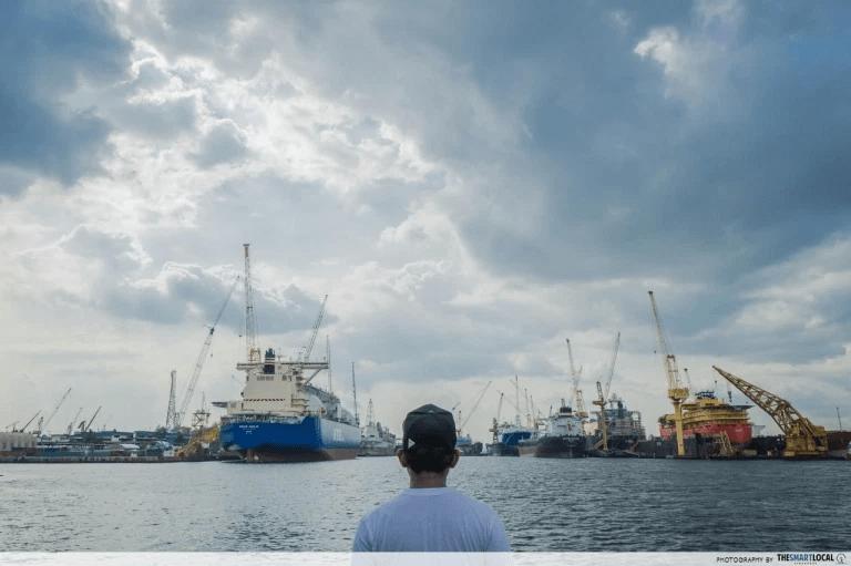 future predictions - Singapore ports