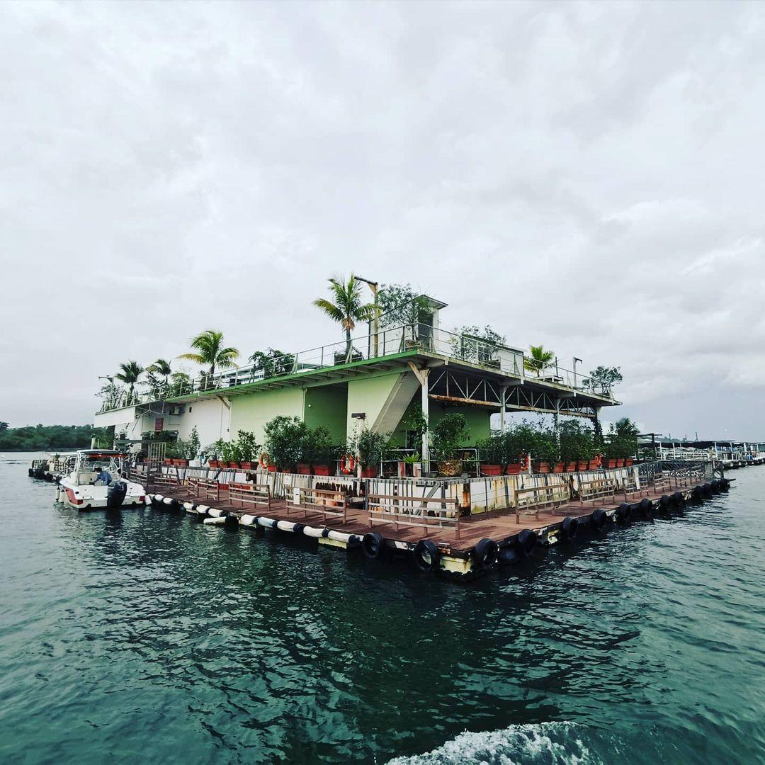 Smith Marine Floating Restaurant from changi jetty