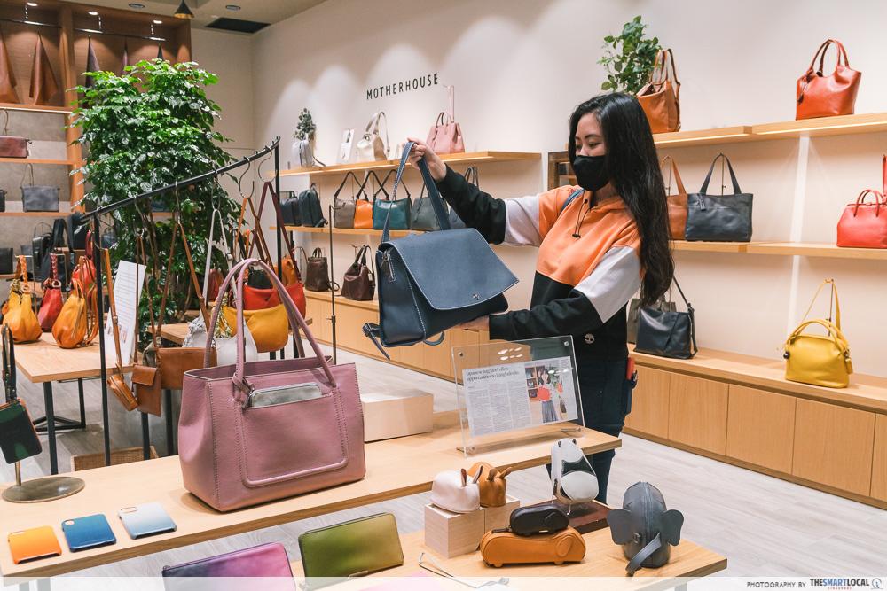 Motherhouse Leather Bags - Suntec City