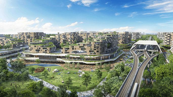 Tengah housing development board