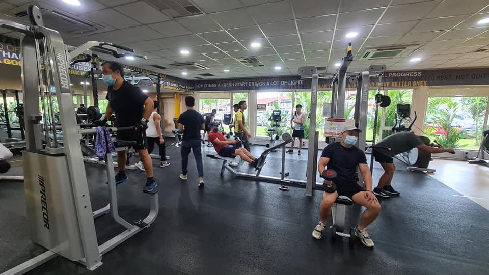 Woodlands ActiveSg Gym