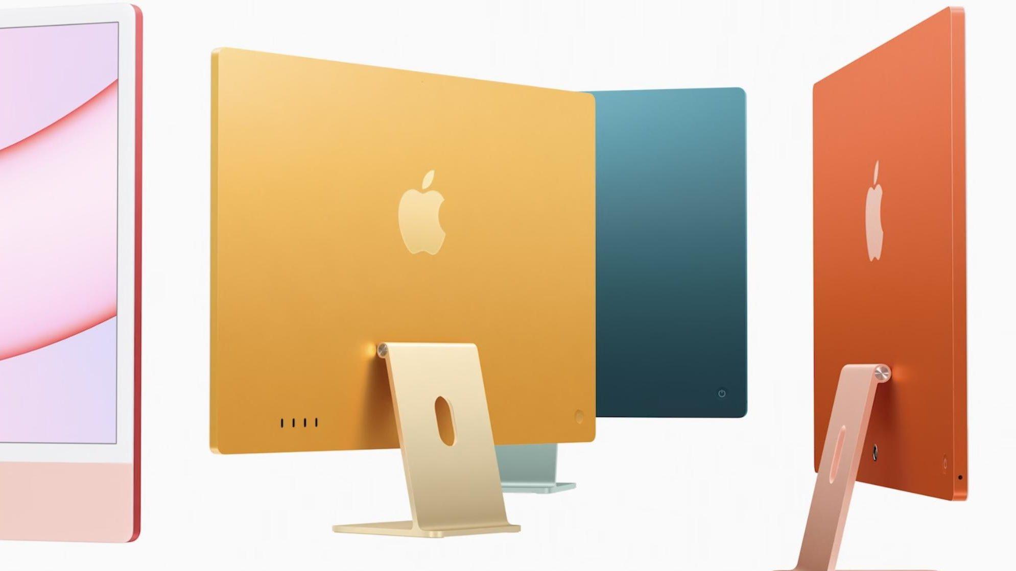 2021 iMac colour options
