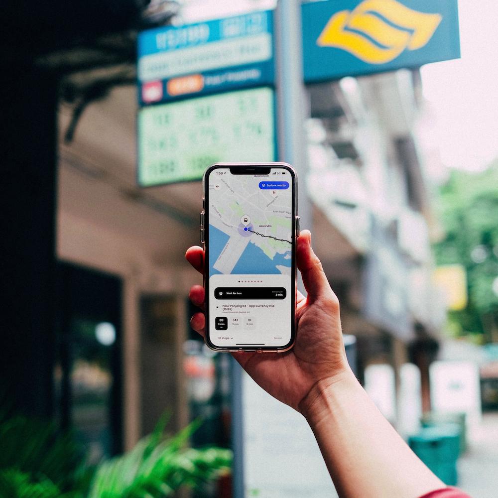 zig app - public transport planner