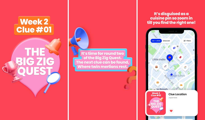 zig app - big zig app clues