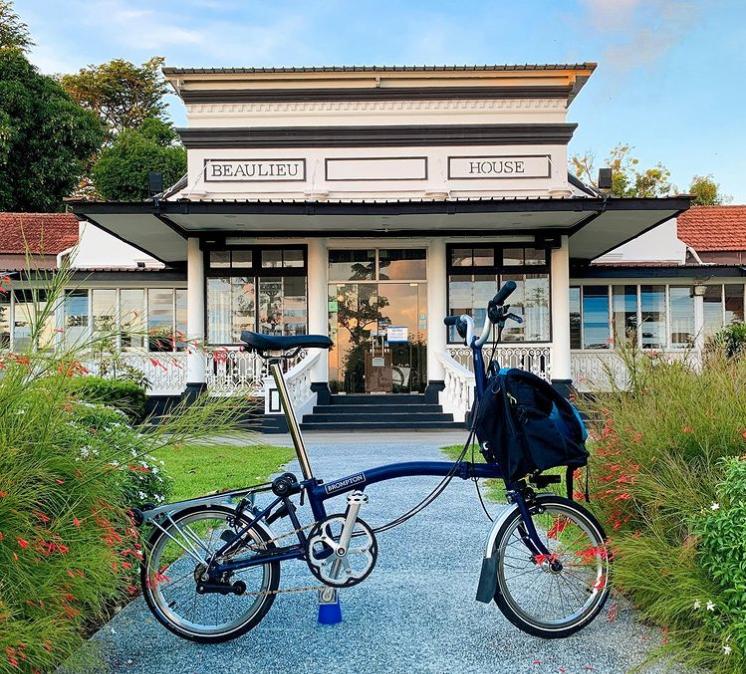 cycling routes singapore - beaulieu house at sembawang park