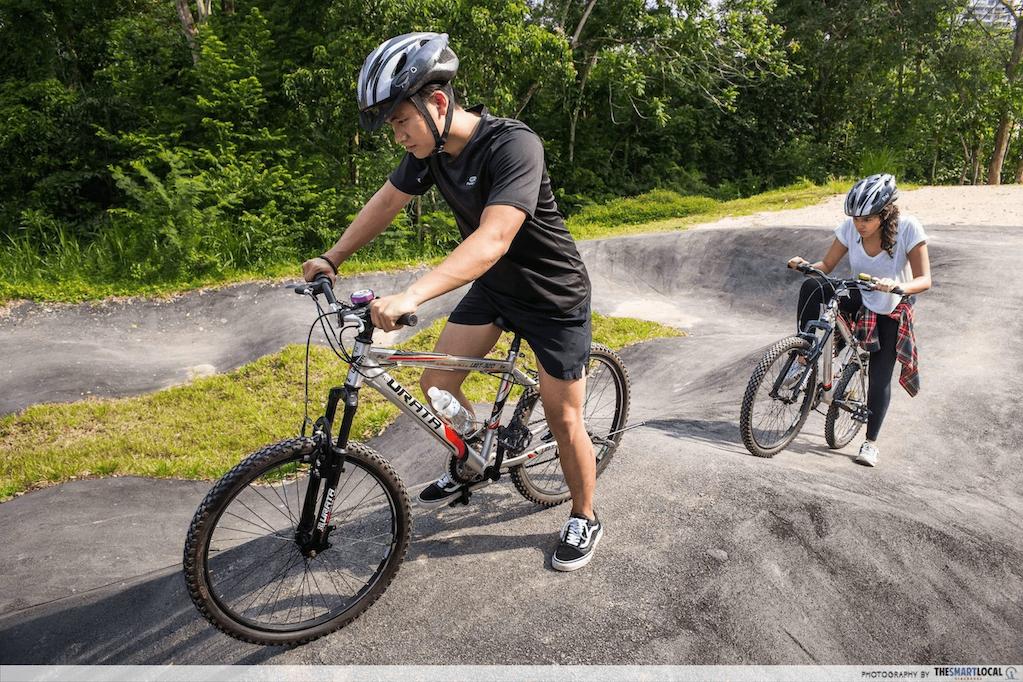 cycling routes singapore - chestnut bike park