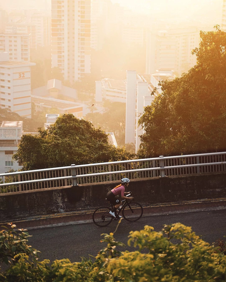 cycling routes singapore - mount faber hill climb