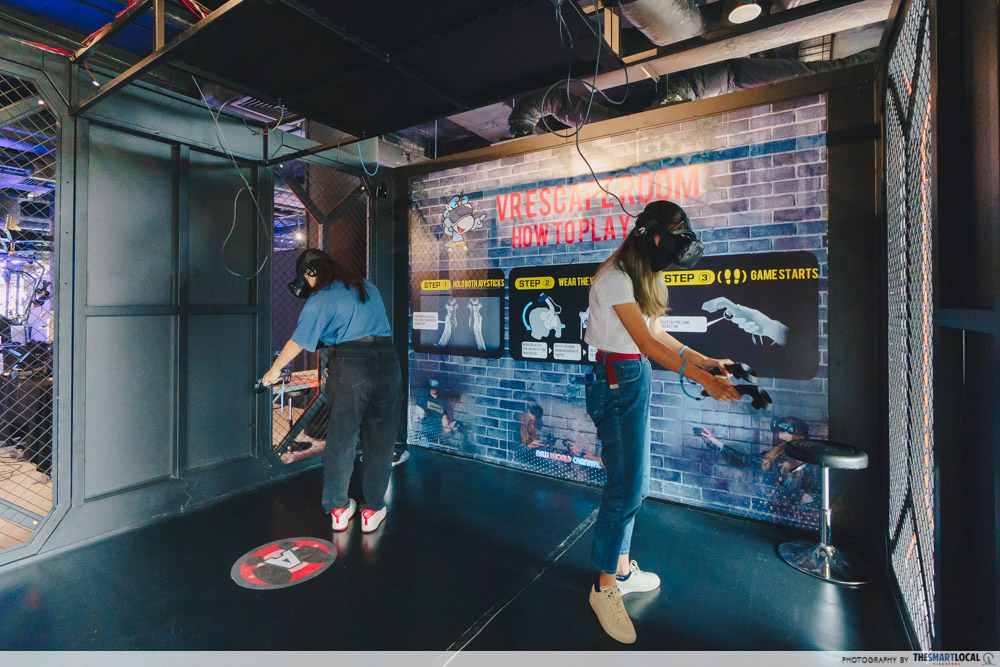 virtual escape room in singapore
