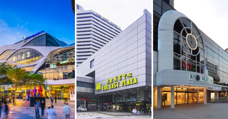 Plaza Singapura - Far East plaza - forum the shopping mall orchard
