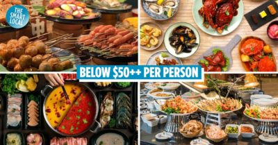buffet places in Singapore cover image