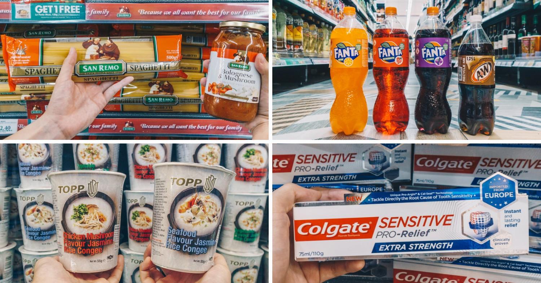 San Remo, Fanta, Topp congee, Colgate Sensitive Pro Relief
