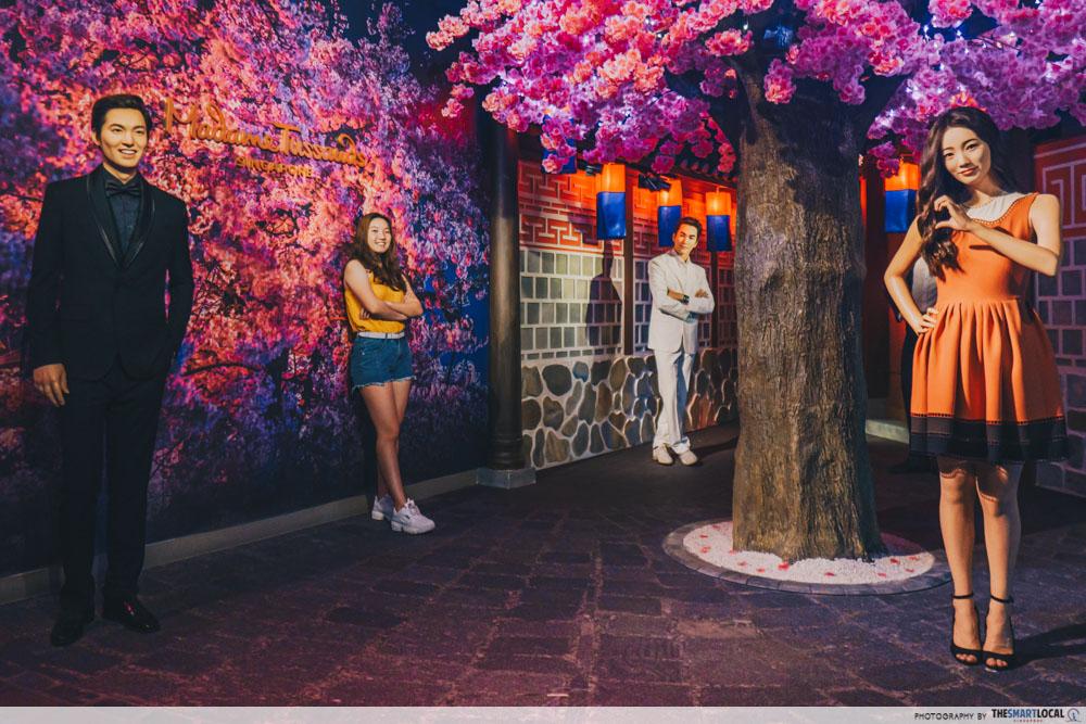 Madame Tussauds Singapore - Lee Min Ho, Bae Suzy