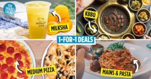 1-for-1 dining deals cover image