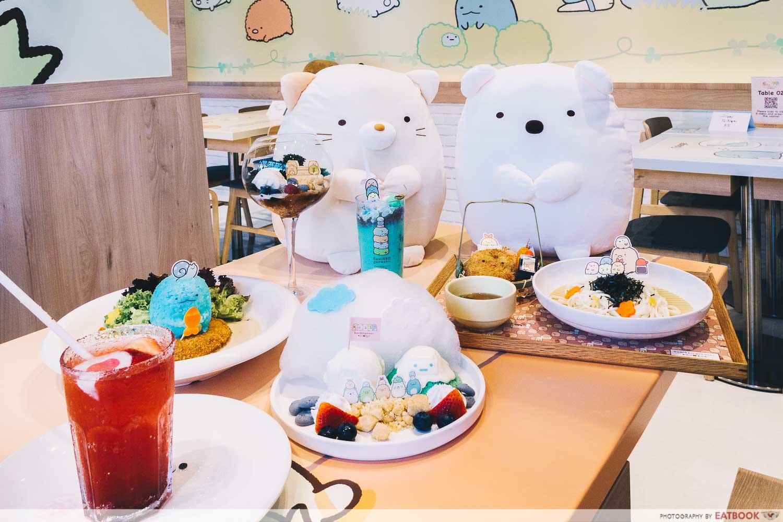 Sumikkogurashi X Kumoya Cafe