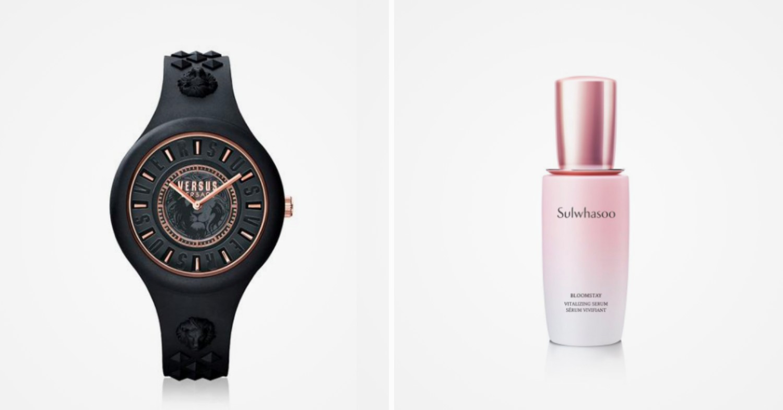 Versus Versace Fire Island Lumiere Watch & Sulwhasoo Bloomstay Vitalizing Serum