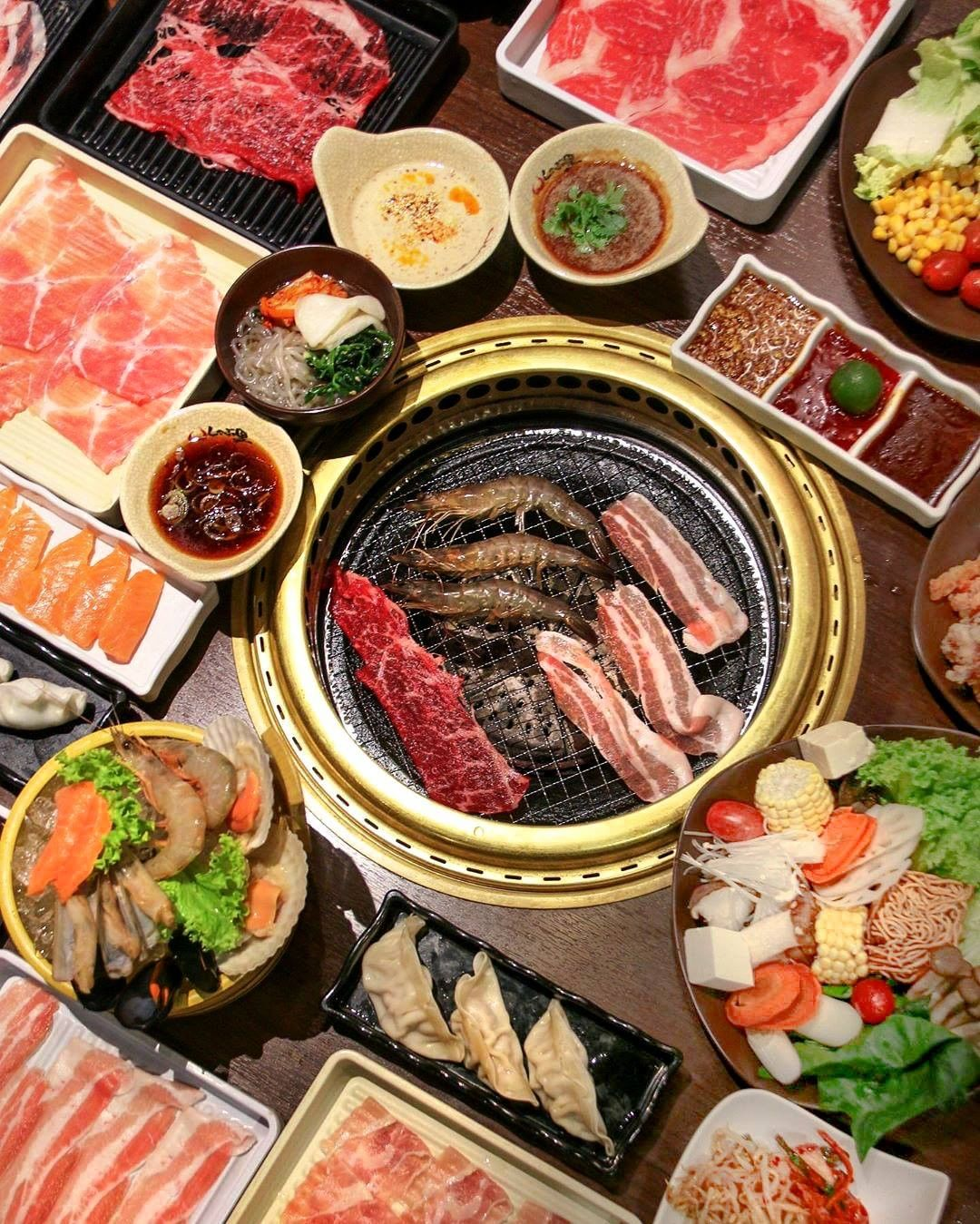 buffet places in Singapore - Shaburi & Kintan Buffet