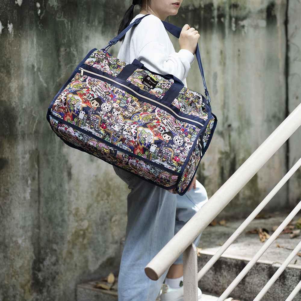 KrisShop April promotions - Tokidoki X SIA Foldable Travel Bag