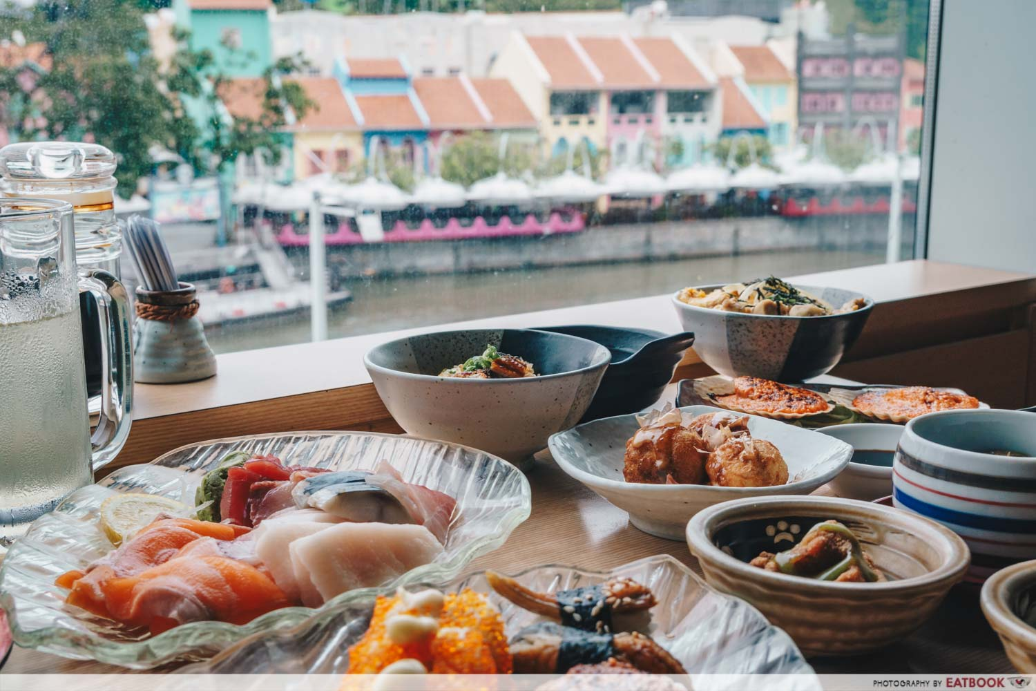 buffet places in Singapore - Mitsuba