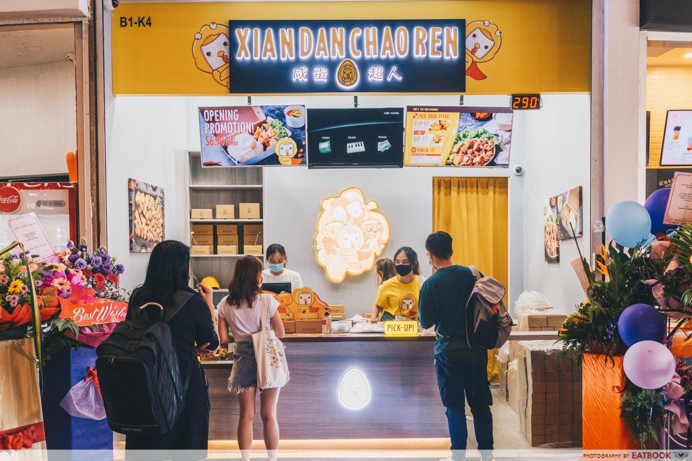 New cafes and restaurants in April - Xian Dan Chao Ren