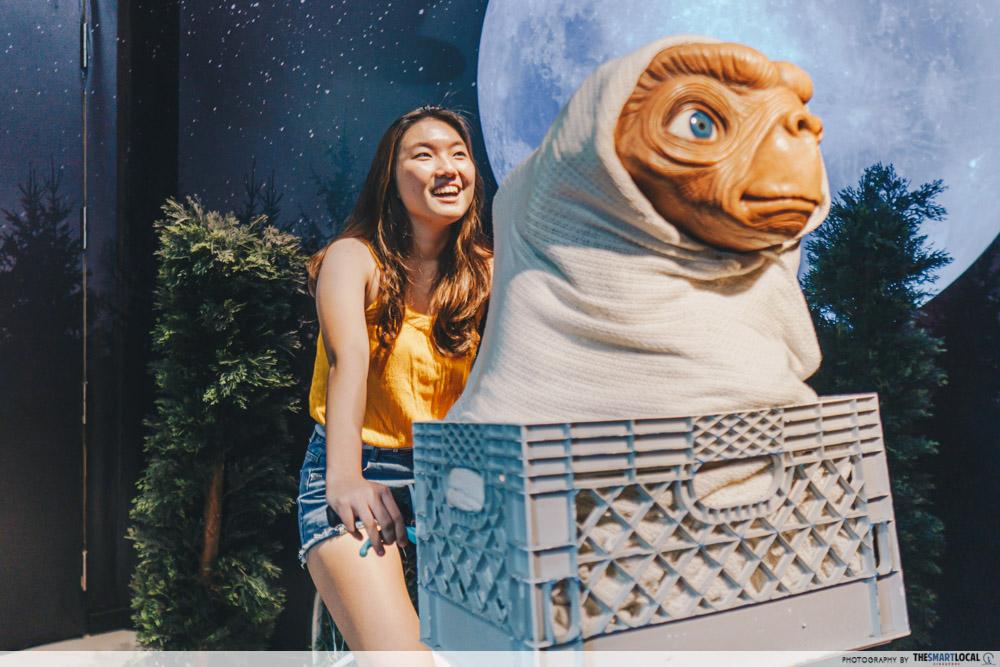Madame Tussauds Singapore - E.T. The Extra-Terrestrial