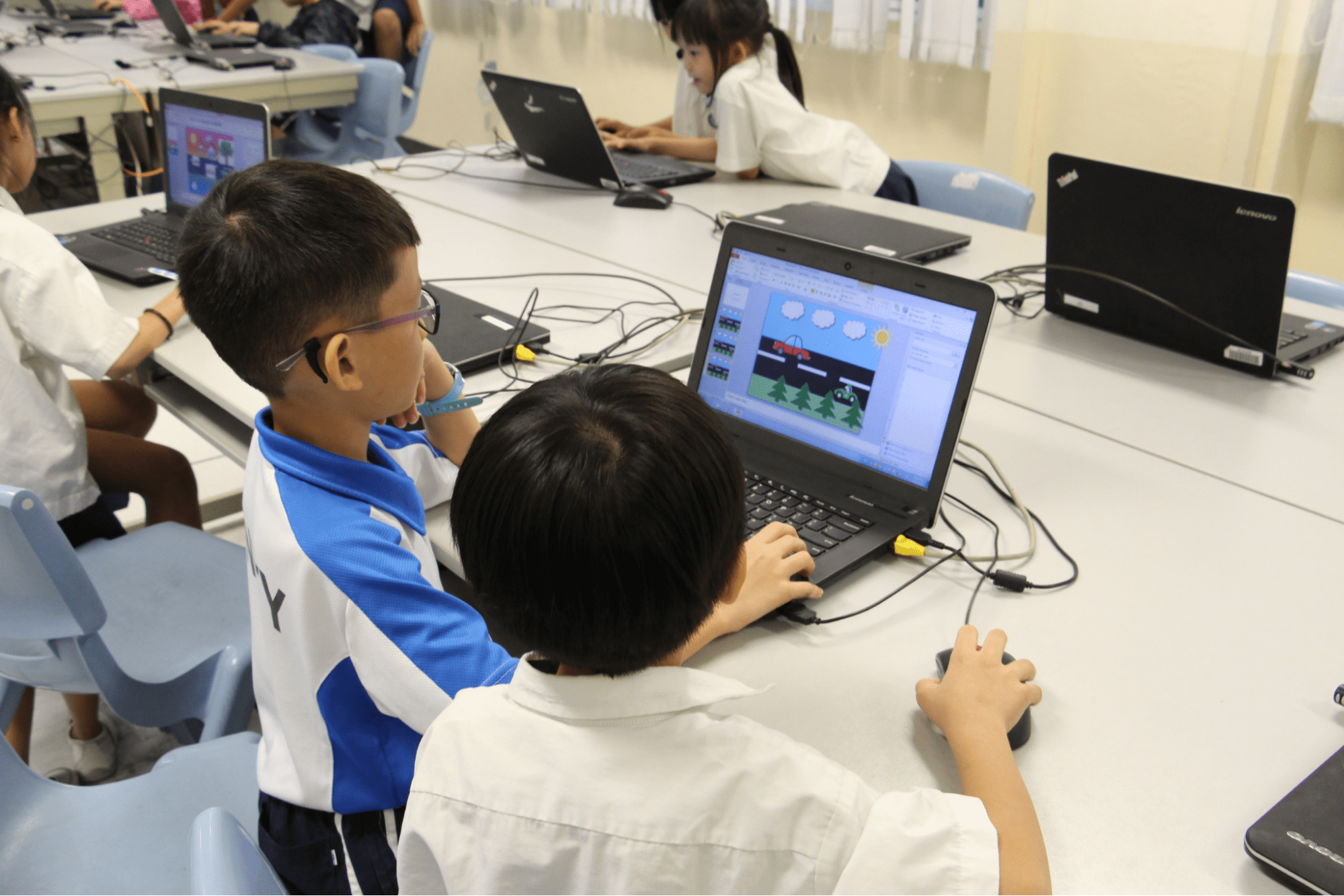 computer lab lessons