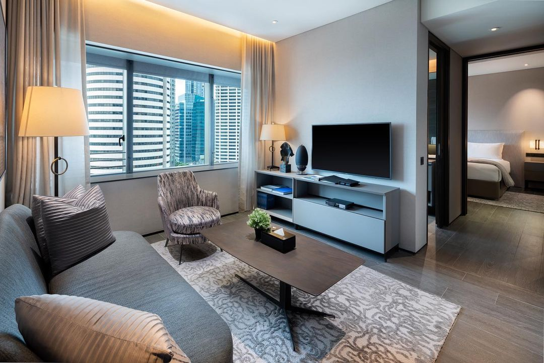 Luxurious serviced apartments