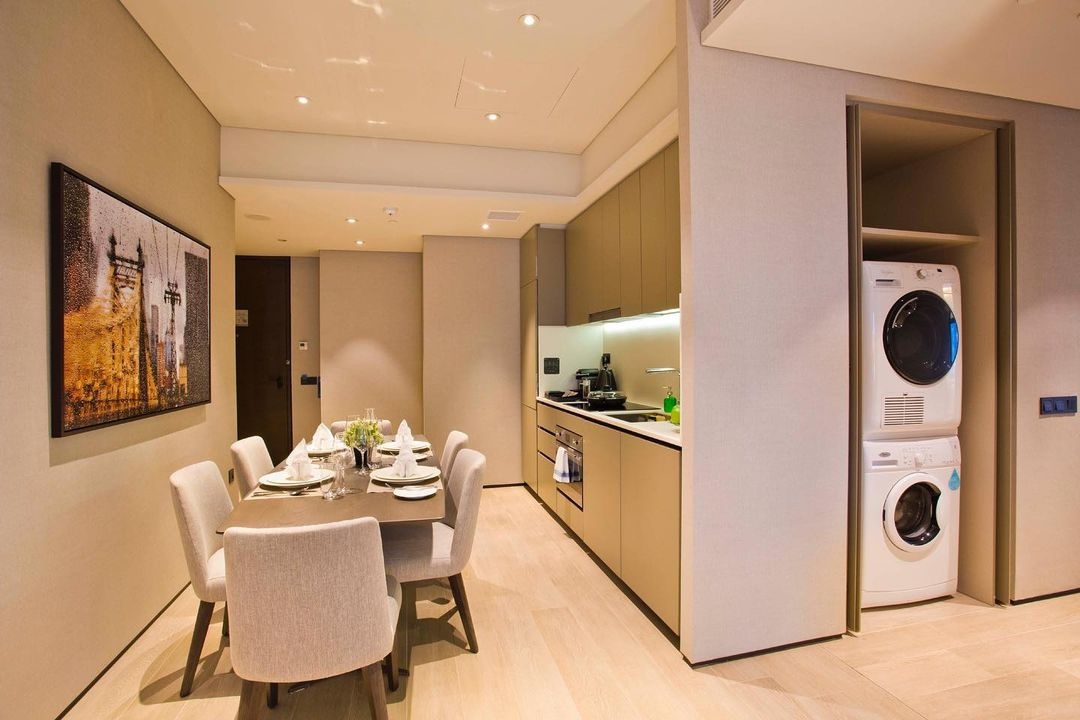 two-bedroom serviced apartment