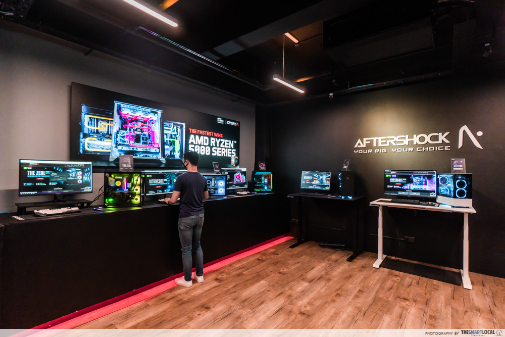 Aftershock PC Singapore HQ