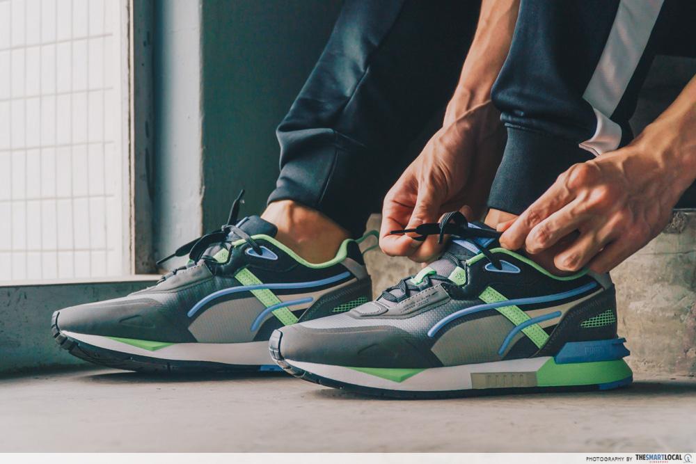 puma mirage tech sneaker