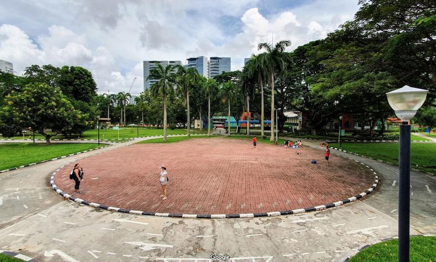 singapore school excursion - road safety community park open to public 24 hours