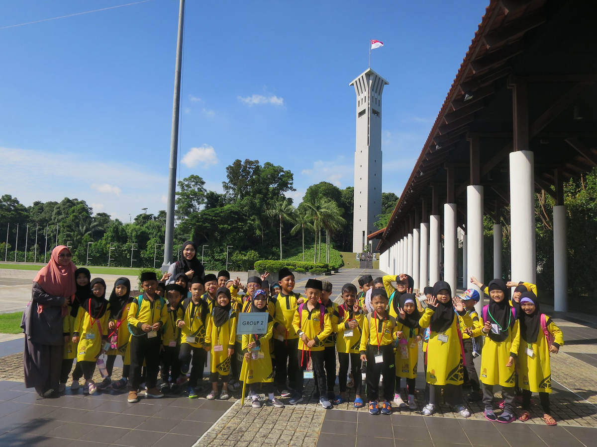 SAFTI Tower tour from singapore discovery centre