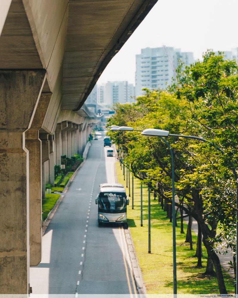 """LRT """"monorail ride"""" around Sengkang"""