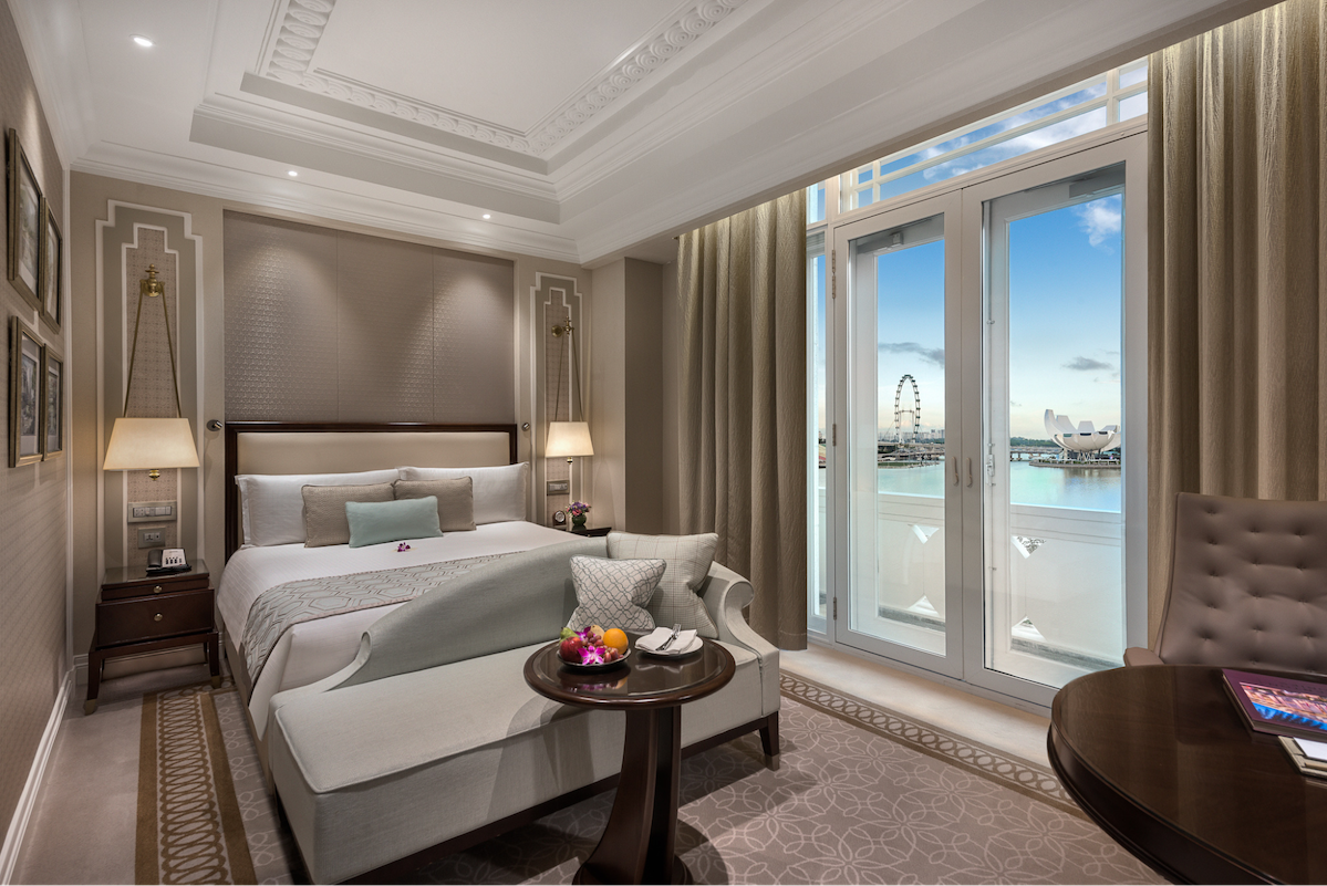 traveloka epic sale - marina bay view room the fullerton hotel