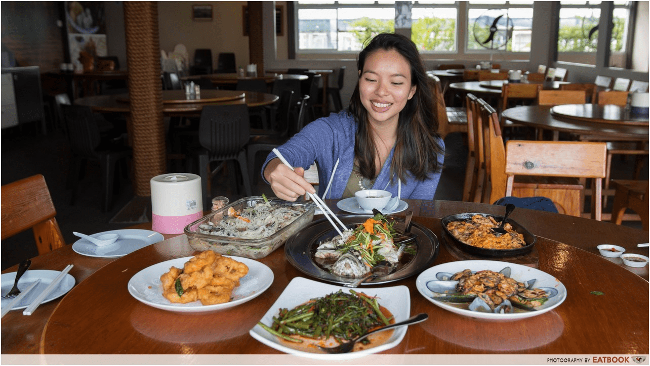 seafood at Smith Marine Floating Restaurant