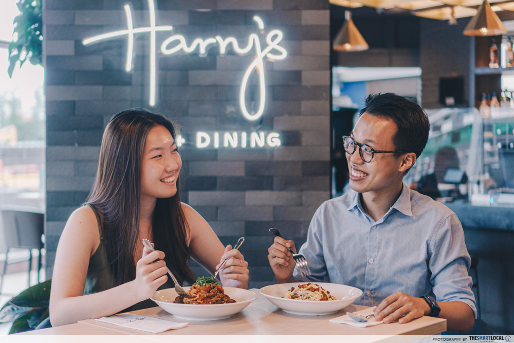 1-for-1 dining deals - Harry's
