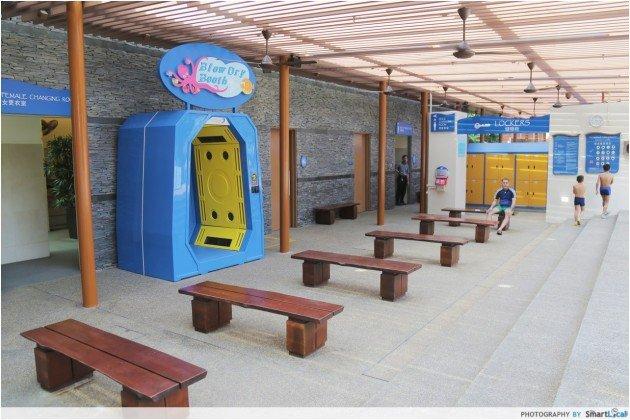 Adventure Cove Waterpark - Lockers