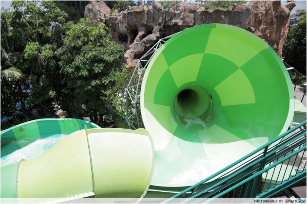 Adventure Cove Waterpark - Whirlpool washout