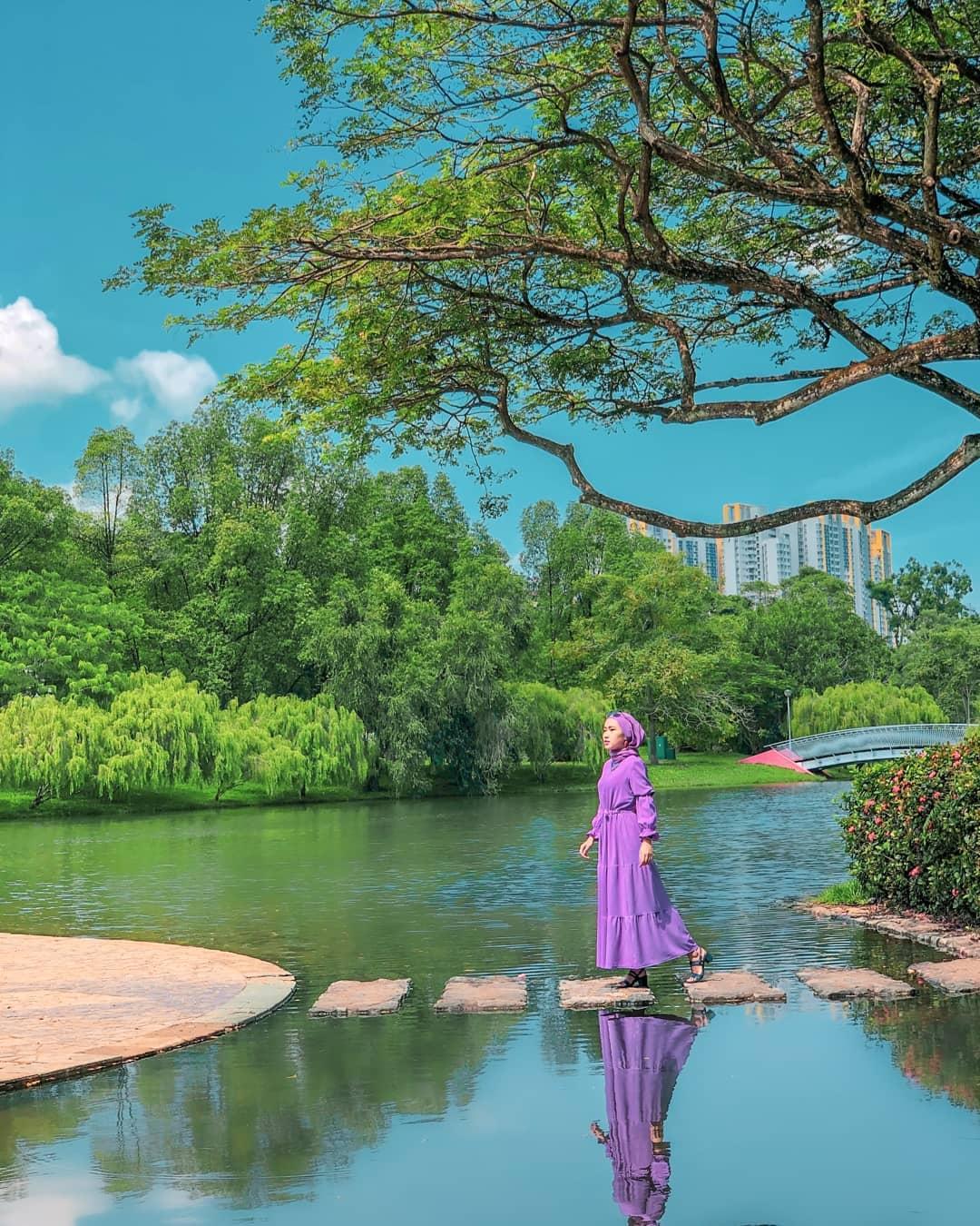 Bishan-Ang mo kio Park stepping stones