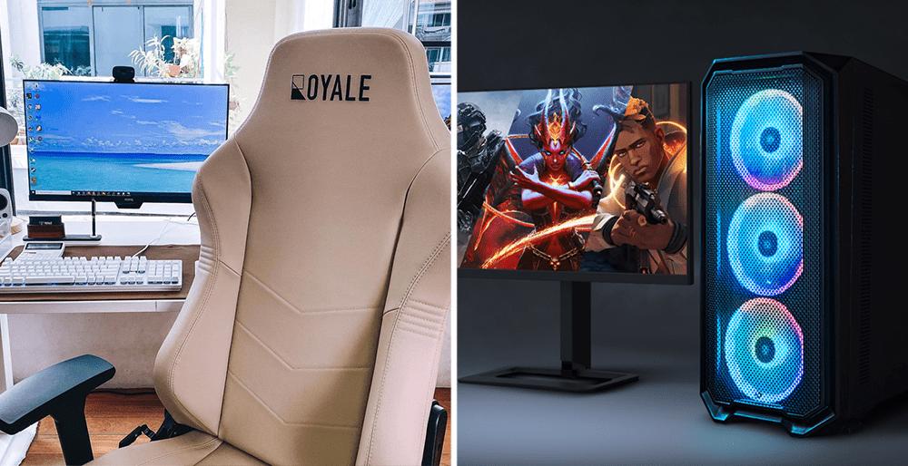 Royale Ergonomics Gaming Chair, Dreamcore PC