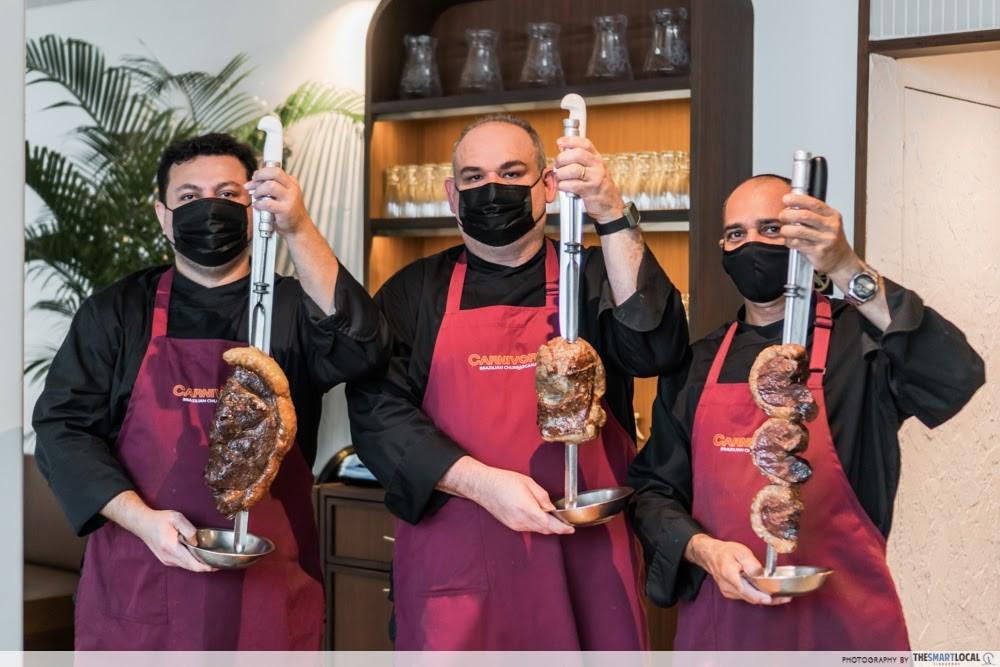 CHIJMES date ideas - Carnivore meat skewers