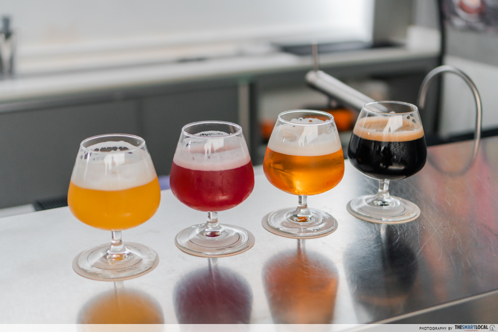 CHIJMES date ideas - Almost Famous craft beer