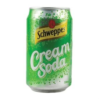 Childhood Drinks - Schweppes Cream Soda