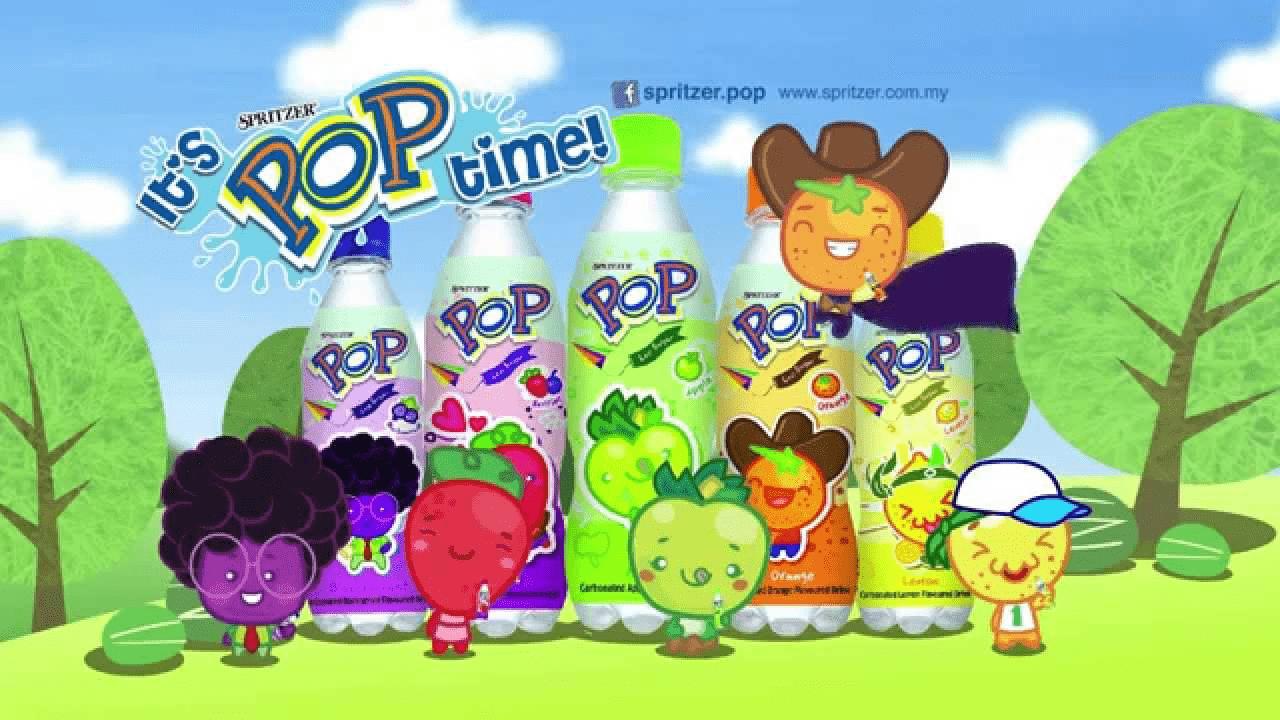 Childhood Drinks - Spritzer Pop