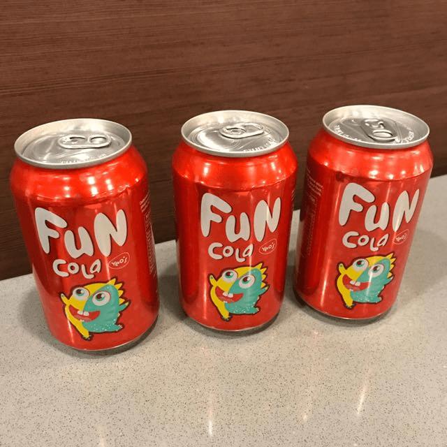 Childhood Drinks - Fun Cola