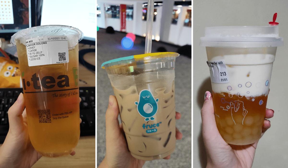 Bubble Tea in Singapore - iTea, Fruce, Playmade