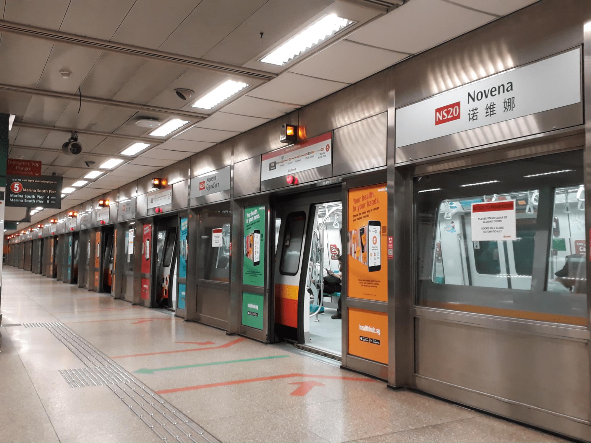 novena mrt station